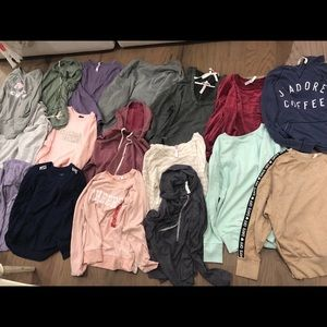 Lot of 17 tops from Target